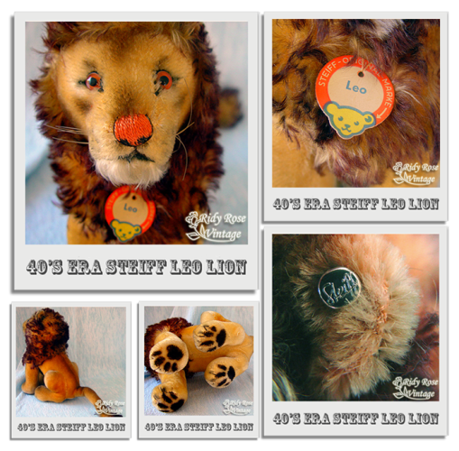 steiff-leo-lion_polaroid-montage