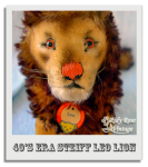 Leo the Steiff Lion Upclose