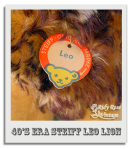 Leo the Steiff Lion's Tag