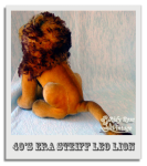 Leo the Steiff Lion's Backside