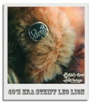 Leo the Steiff Lion's Ear Button